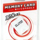 128MB memory card for Wii console