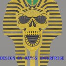 Rhinestone hot fix motif