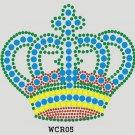 Crown rhinestone design
