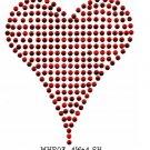 Heart stone motif