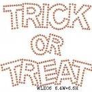Trick or Treat stone motif
