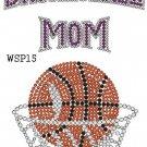 Basketball rhinestone design