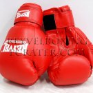 Reyvel boxing gloves Synthetic Leather 6 oz Red