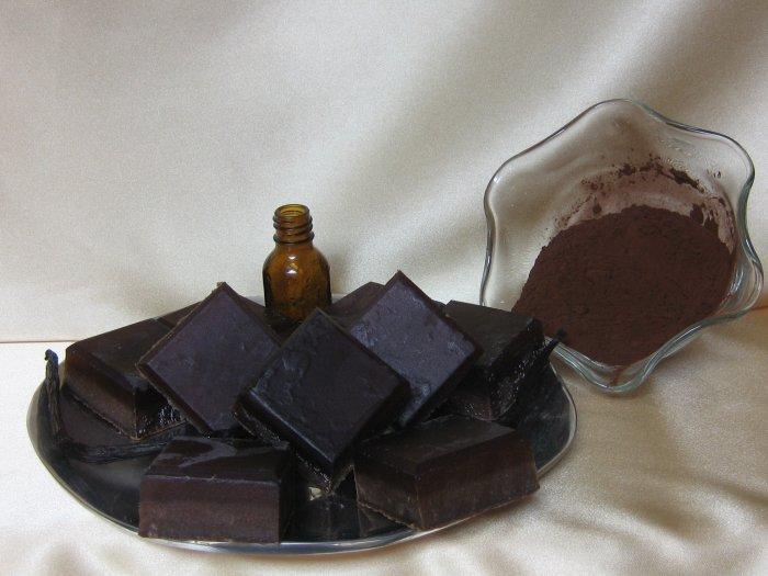 Premium Chocolate and Vanilla Soap