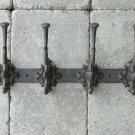 WHOLESALE CASE LOT OF 6 Rustic Cast Iron Coat Rack