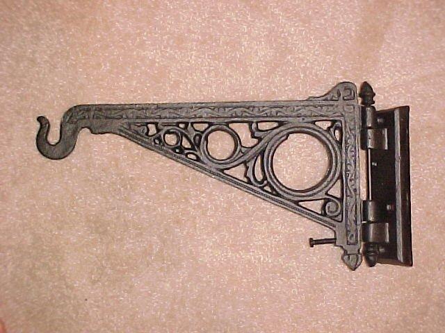WHOLESALE LOT 6 Large Cast Iron Victorian Plant Bracket