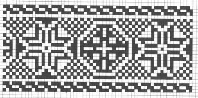 Counted cross stitch pattern - Romanian embroidery -4