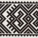 Counted cross stitch pattern - Romanian embroidery -9