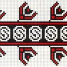 Counted cross stitch pattern - Romanian embroidery -10