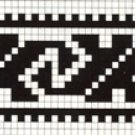 Counted cross stitch pattern - Romanian embroidery -14
