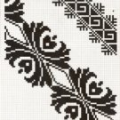 Counted cross stitch pattern - Romanian embroidery -17