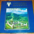 Romanian Orthodox Monastery Sucevita - illustrated book