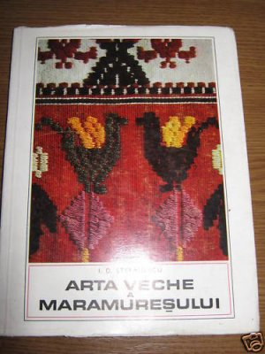Old Romanian peasant art from Maramures ,rugs , icons
