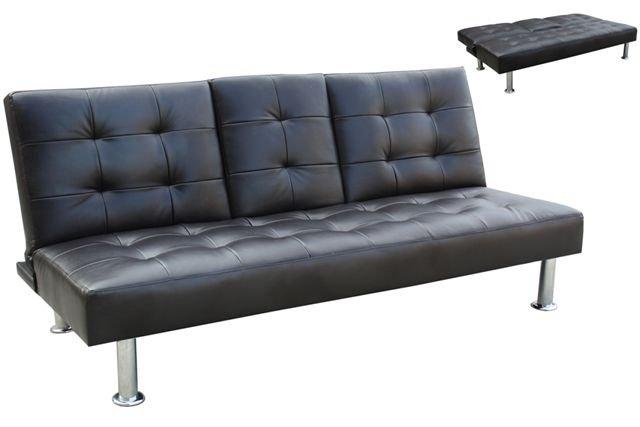 Sofa bed leathe match AE008BK