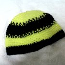 Skullie: Black & Yellow Striped