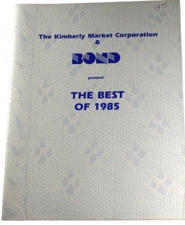 The Kimberly Market Corporation & Bond Present the Best of 1985 -Machine Knitting