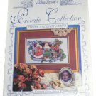 Alma Lynne's Private Collection Counted Cross Stitch Pattern Three Faces of Santa