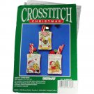 Bernat 95-886600 Counted Cross Stitch KIT Baby's Christmas