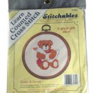 Stitchables 97562 Teddy & Goose Counted Cross Stitch Kit by Dimensions