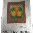 Nordiska Industri AB (NIAB) Long Stitch Kaisa Edstrom Tulips Picture Needlepoint Kit 4888