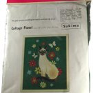 Penelope Needlework Collage Panel Wall Picture Embroidery Kit