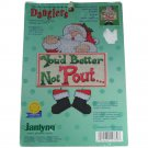 Janlynn 15789 Counted Cross Stitch KIT Better Not Pout
