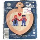 NeedleMagic, Inc. Counted Cross Stitch Kit 247 Country Couple