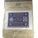Candamar Designs Something Special Counted Cross Stitch Kit 50138 Snowflake Sampler
