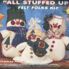 """All Stuffed Up"" Felt Folks Kit 61102 Snowman Family"