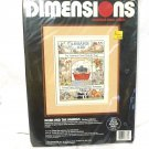 Dimensions Noah and the Animals Counted Cross Stitch Embroidery Kit