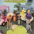 Fashion Doll On The Green - Plastic Canvas (Annie's Attic # 87D73) Pamphlet – 1993