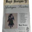 Boyd Designs Antique Santas 1900 Santa Needlepoint,Counted Cross Stitch Design