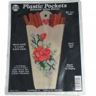 NeedleMagic, Inc. Counted Cross Stitch Kit 2151 Plastic Pockets Rose