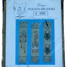 Permin of Copenhagen Owl Bookmark Embroidery Kit 5-1323