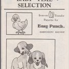 Easy Punch Baby Time Selection Iron-on Transfer Patterns (Stock no. 8406) Paperback – 1983
