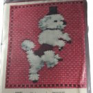 Marks Poodle Pillow Needlework Kit Monster2056