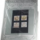 Cross My Heart Inc Counted Cross Stitch Embroidery Kit-Teapot Squares
