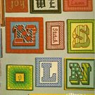 Alphabets & Borders, Leisure Arts Leaflet 276