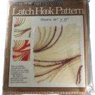Caron 3109 Illusive Latch Hook Canvas Pattern