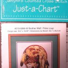 Brother Wolf - Janlynn's Counted Cross Stitch Just-a-Chart #013-0285-W Brand: Janlynn