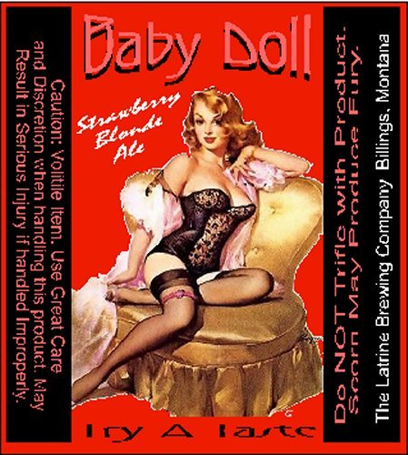 Baby Doll Strawberry Blonde Ale