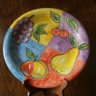 Flower Design China Plate