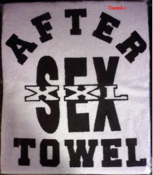 After Sex Adult Hand Towel Gag Toy Novelty Funny toys