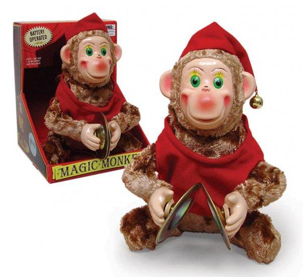 Amazing Magic Cymbal Monkey Retro walks plays Toy New