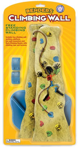 Climbing wall Joe Benders Bender Toy Fun NEW Rock Climb