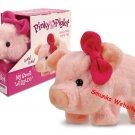 Pinky Piglet Pig walking wiggling snorting pink cutie