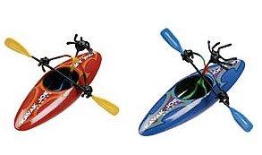 Red Kayak Joe Single Bender Toy Fun boat figure NEW