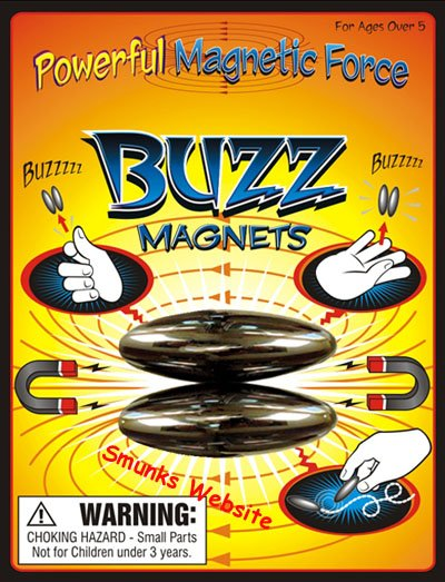 Buzz Magnets oval chatter rattlesnake egg Buzzing noise