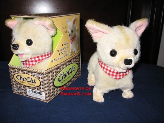 Chi Chi Chihuahua cute dog toy walks barks play fun NEW