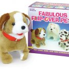 Sparky Flip Over Dog pet puppy walks barks NEW jumping